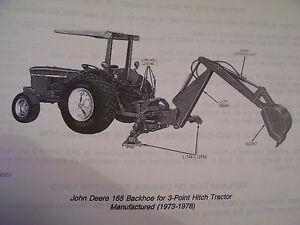 john deere 485 backhoe manual