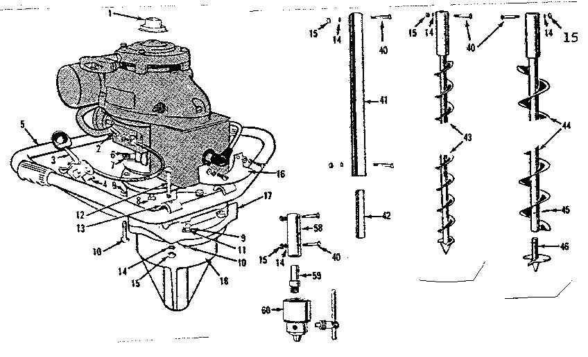 Eskimo ice auger parts manual
