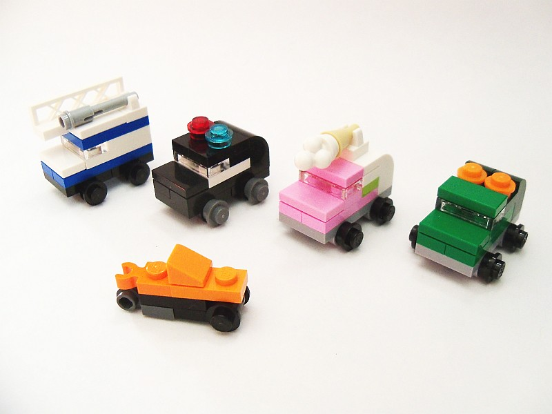 lego mini car instructions