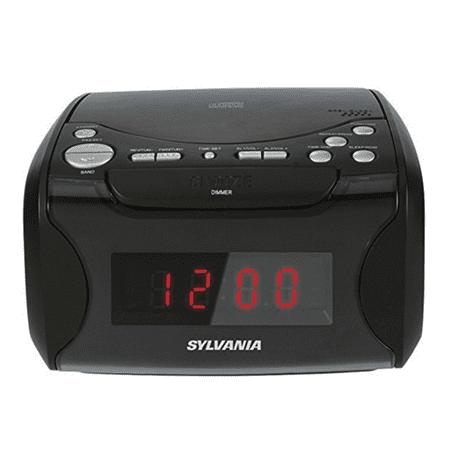 sylvania under counter radio manual