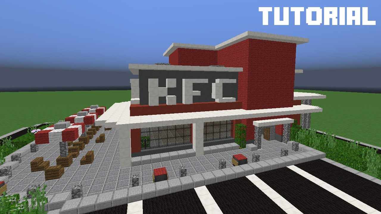 Minecraft videos how to build a restaurant