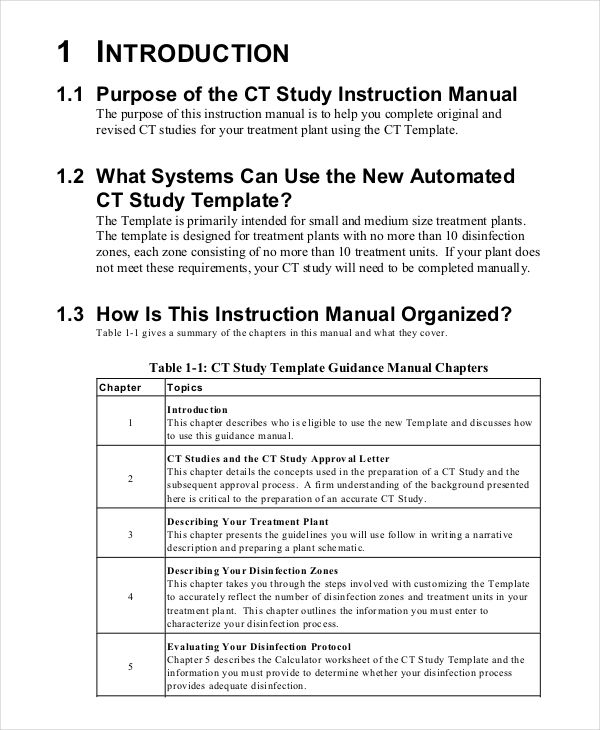 technical writing instruction manual example