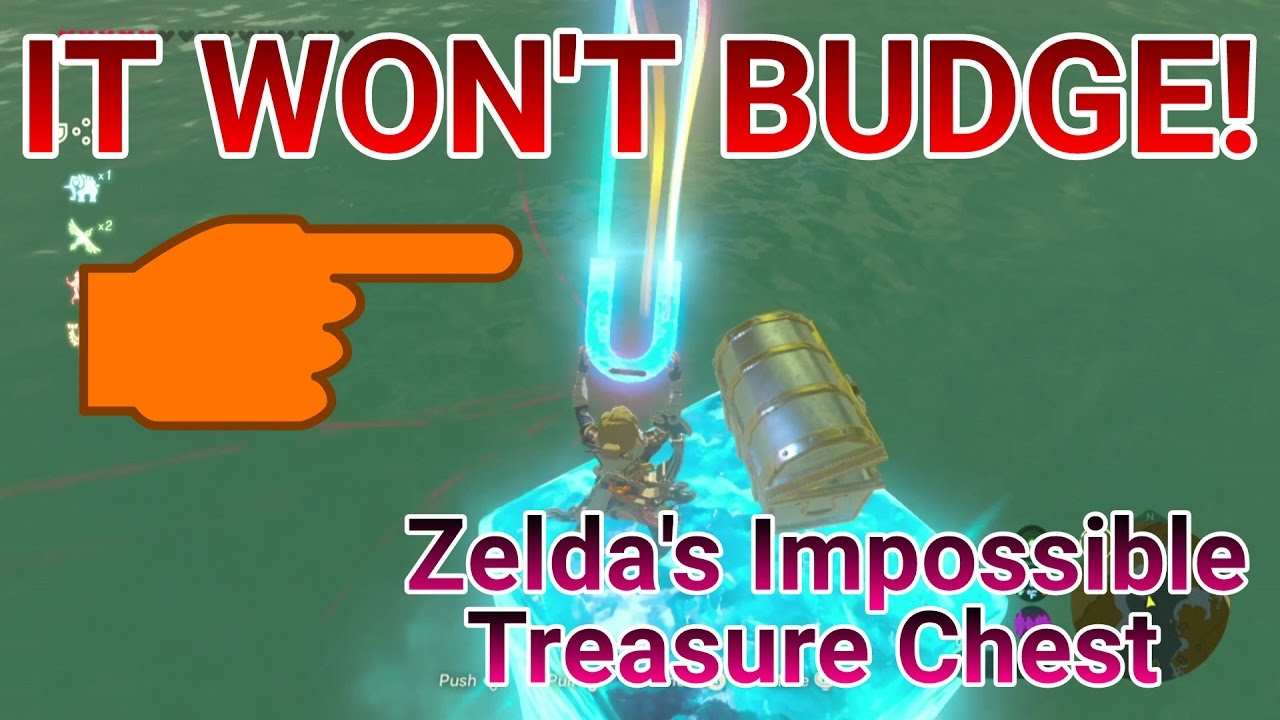 Botw how to get floating chests