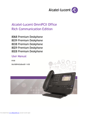 alcatel lucent i 240g p user manual