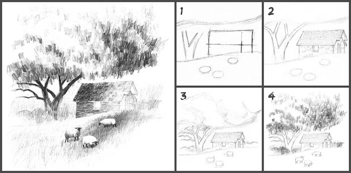 Apprendre a dessiner un paysage etape par etape pdf