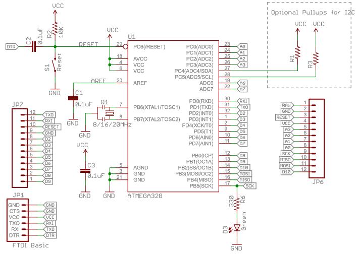 Arduino pro micro schematic pdf
