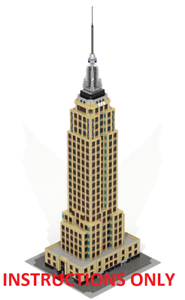 empire state building 3d la nuit instructions