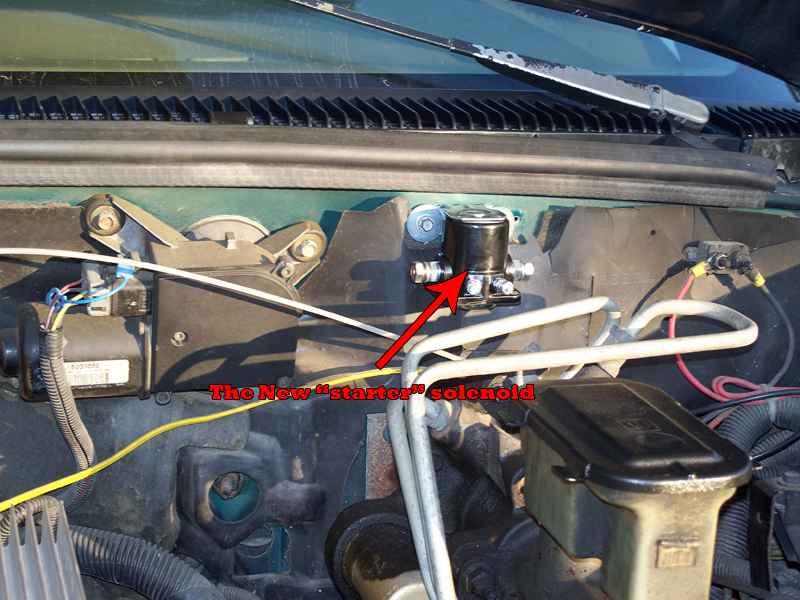 6.2 diesel manual glow plug conversion