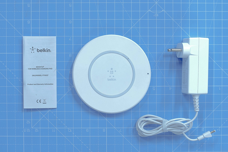 belkin wireless charging pad manual