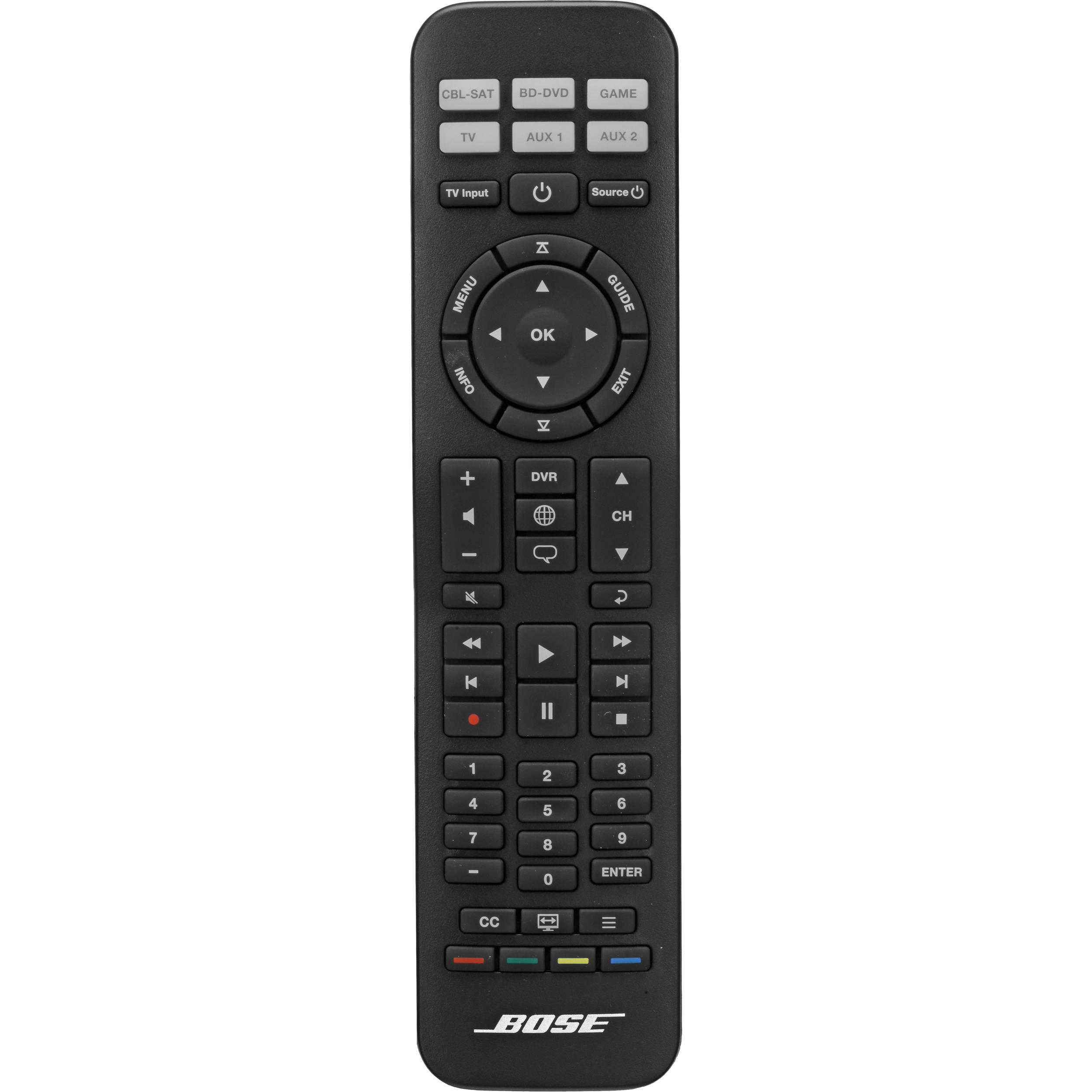 bose cinemate remote control manual