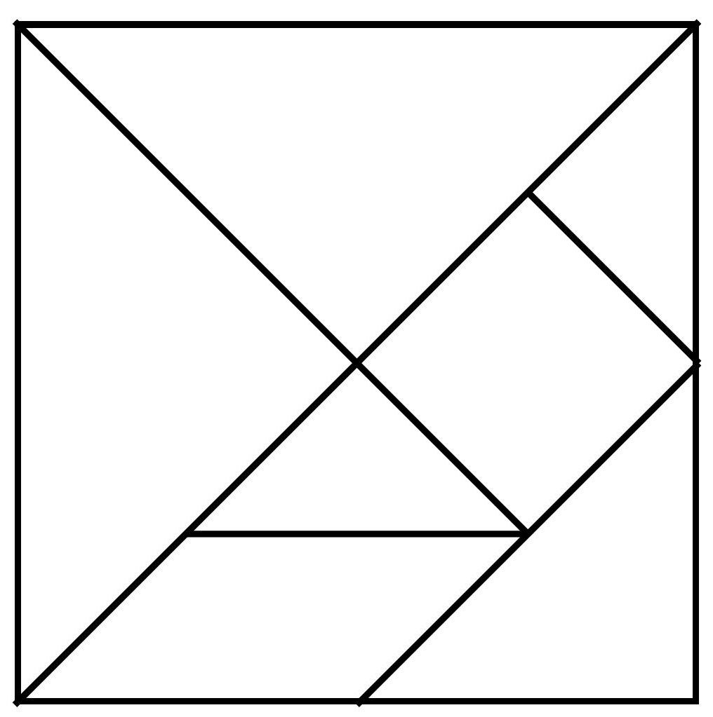 Printable tangram puzzle outlines pdf