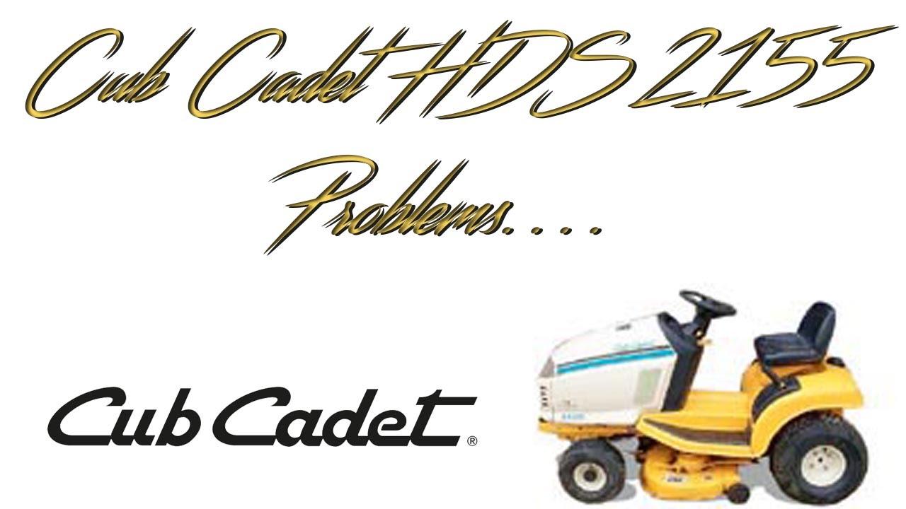 cub cadet hds 2155 manual