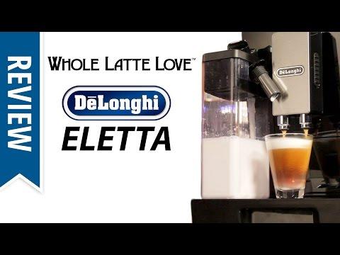 delonghi eletta cappuccino top user manual