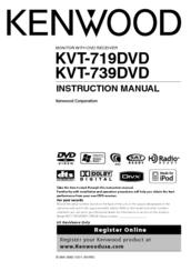 Kenwood excelon kvt 614 manual