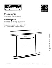 kenmore 630 dishwasher installation manual