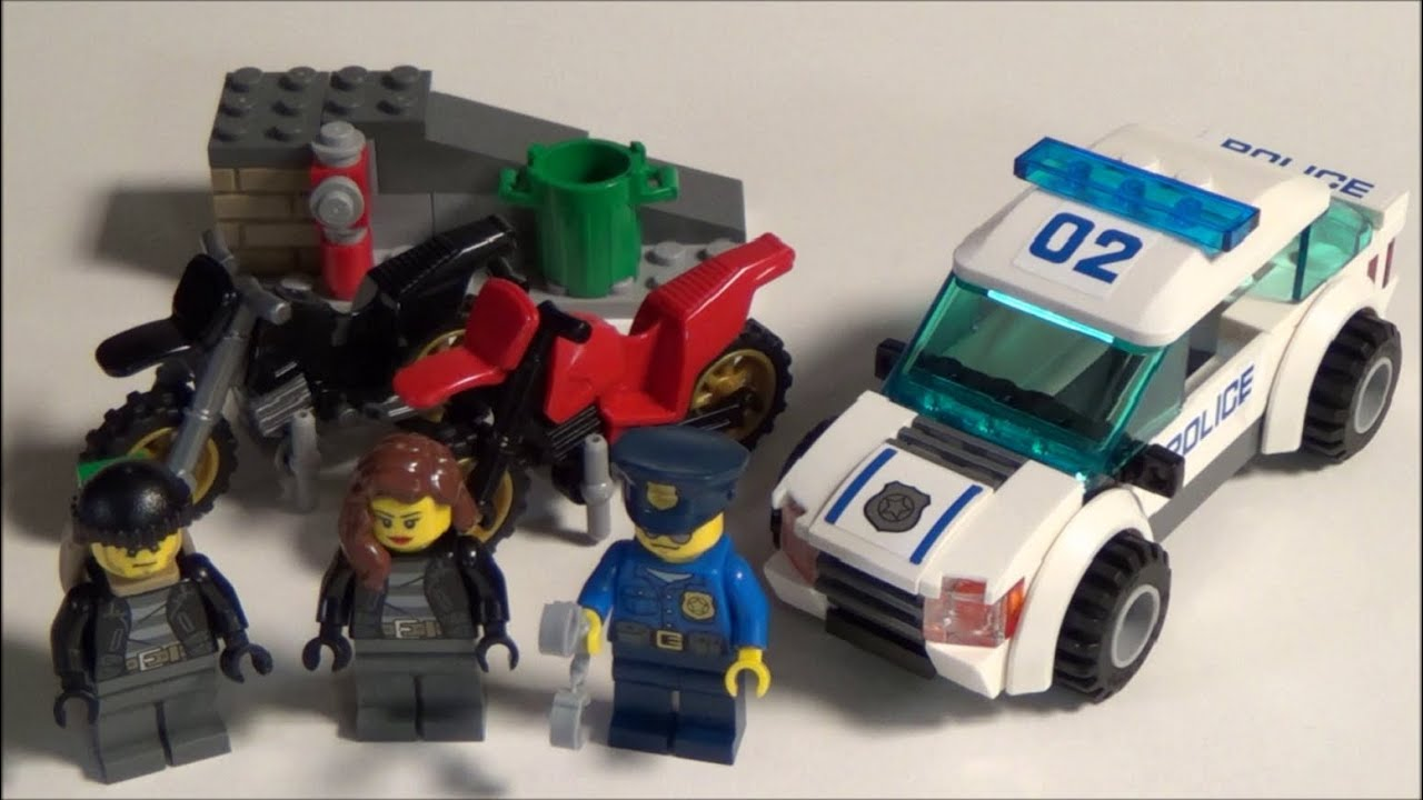 lego city police chase instructions