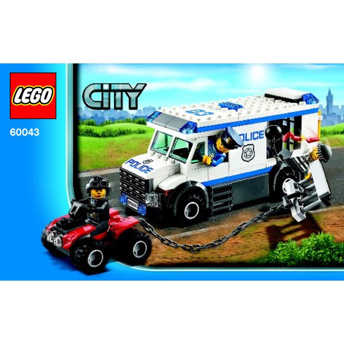 lego city prisoner transporter 60043 instructions