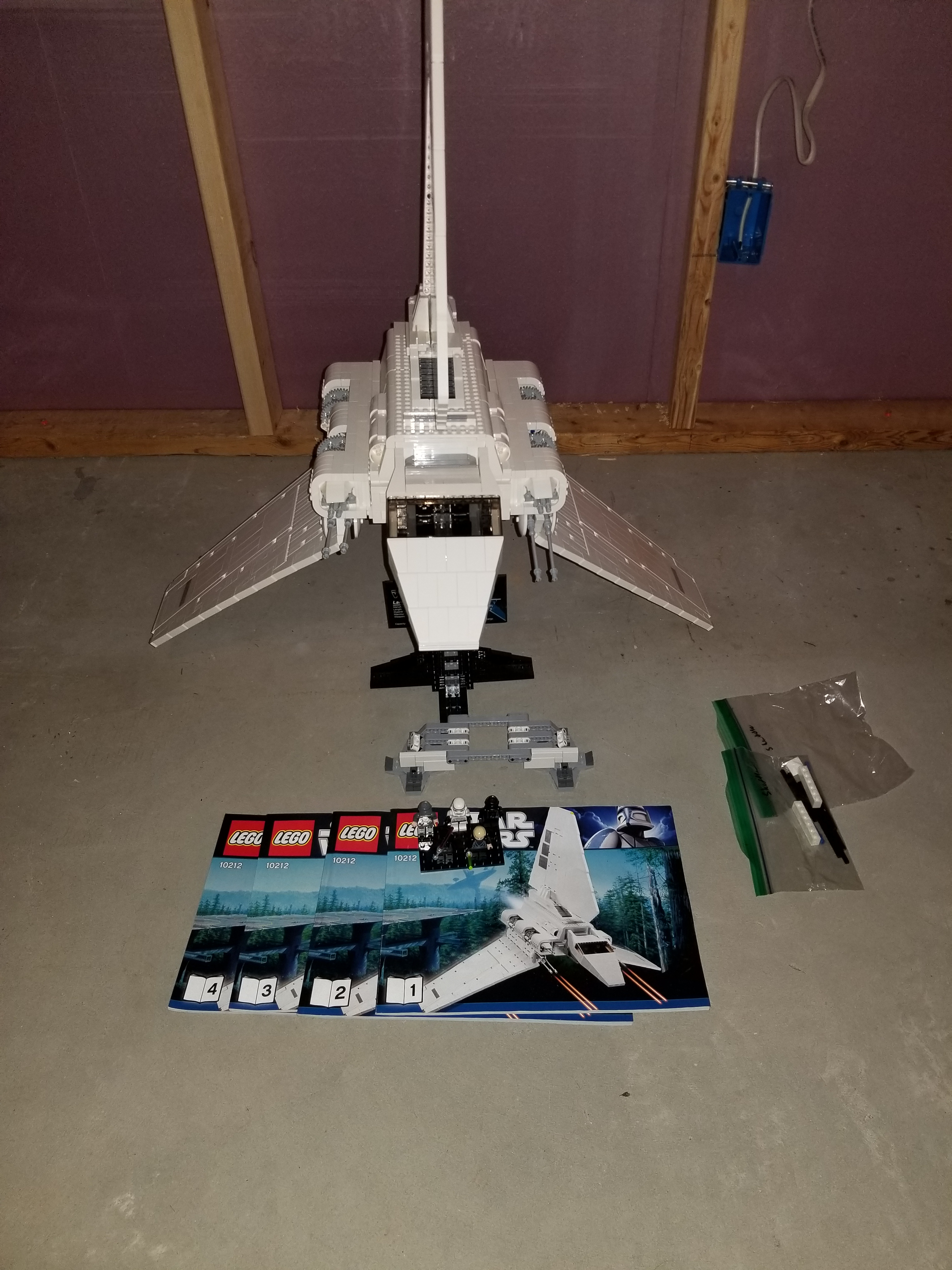lego imperial shuttle 10212 instructions