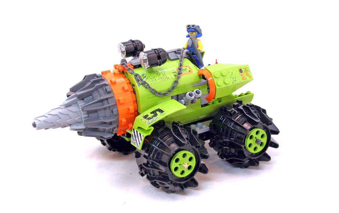 lego power miners thunder driller instructions