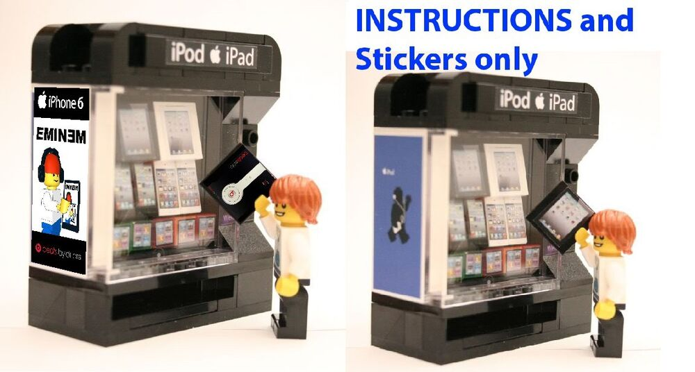 lego soda machine instructions