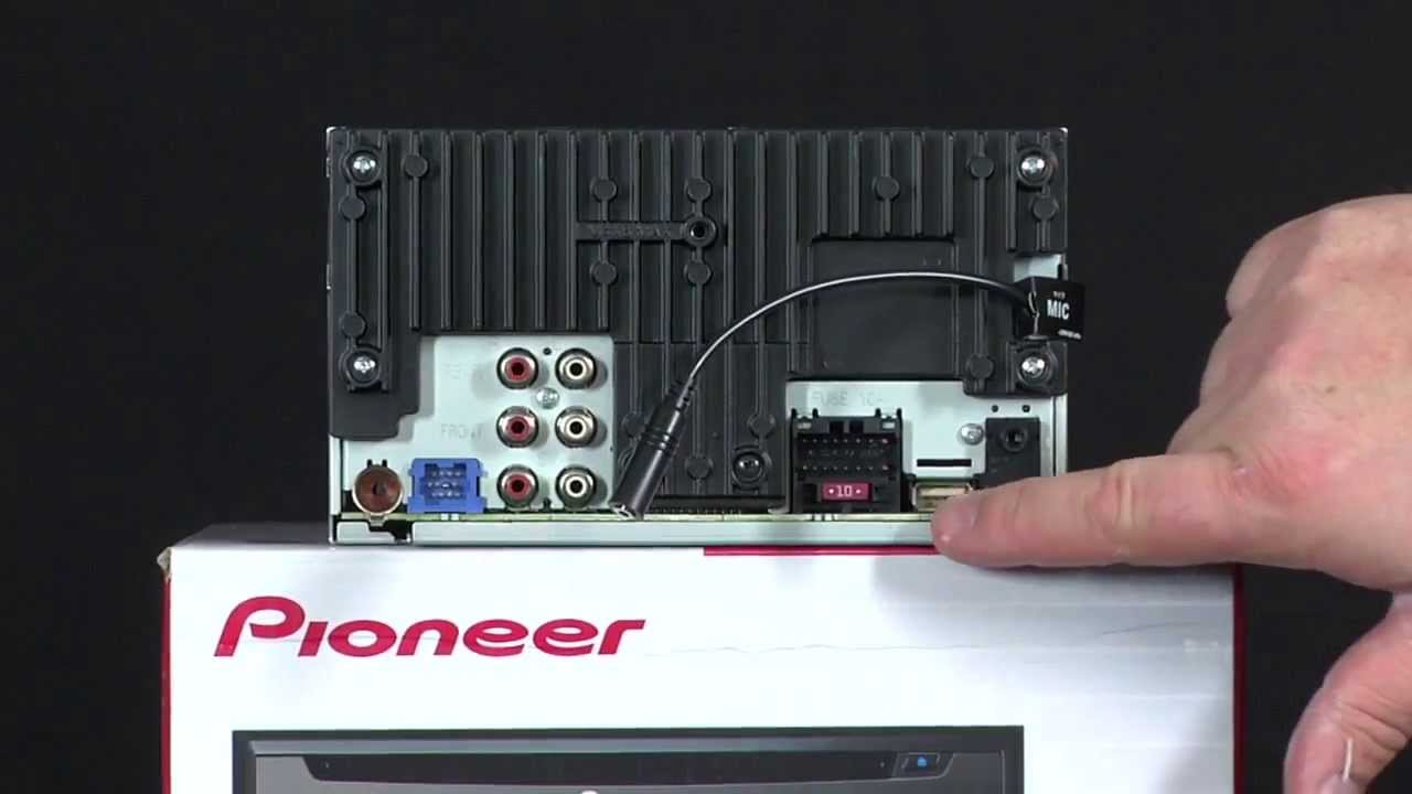 Manual de instalacion pioneer avh-p6600dvd