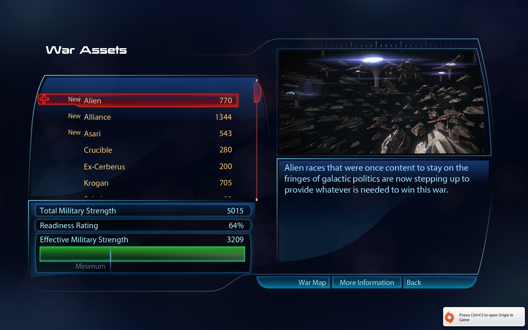 Mass effect 3 how to get 3100 war assets
