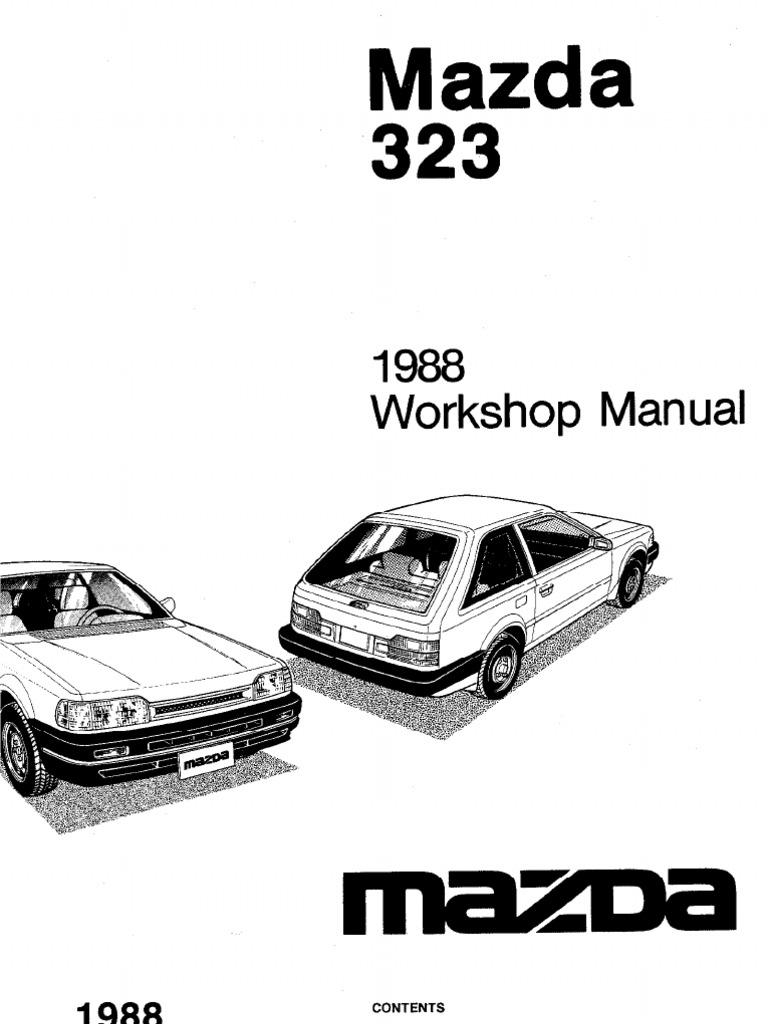mazda 3 2.2 diesel workshop manual