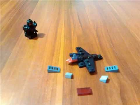 mini lego fighter jet instructions