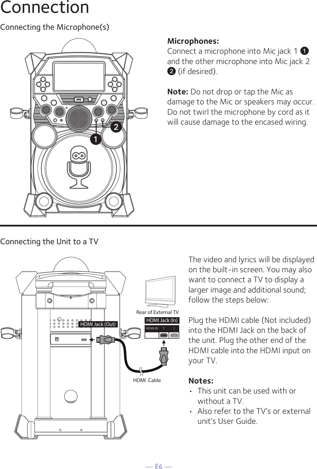 mtv karaoke machine instruction manual