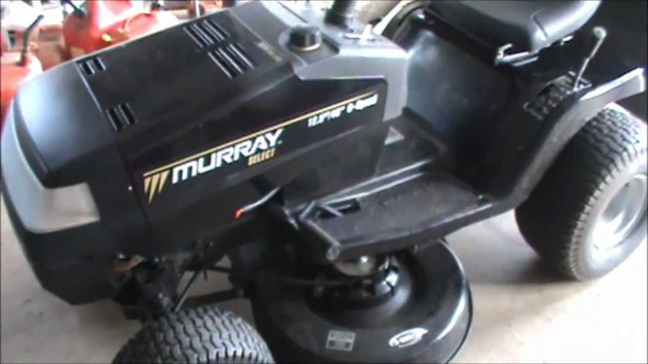 murray riding lawn mower parts manual