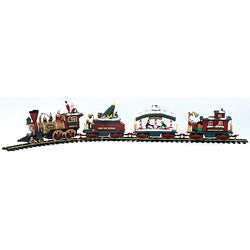 New bright holiday express train set instructions