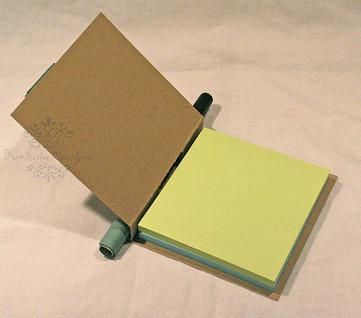 post it note holder instructions