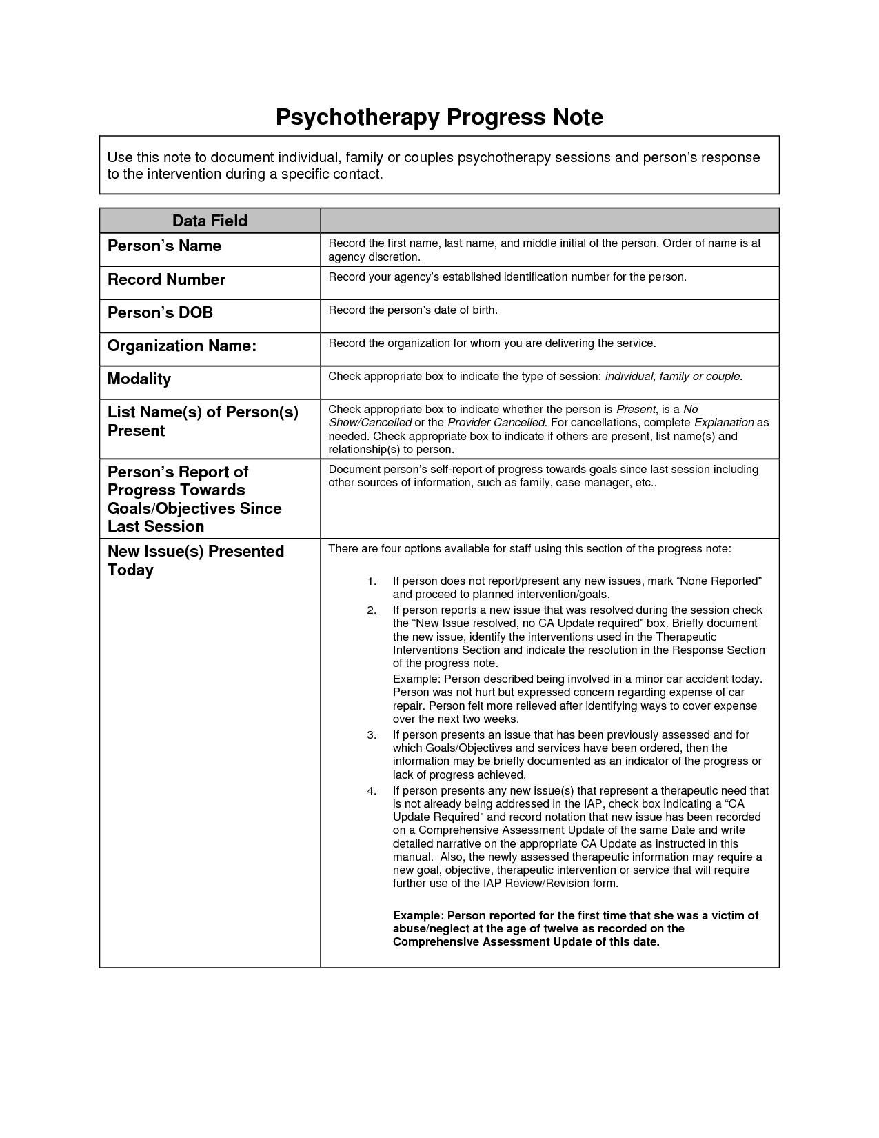 Soap notes case management pdf
