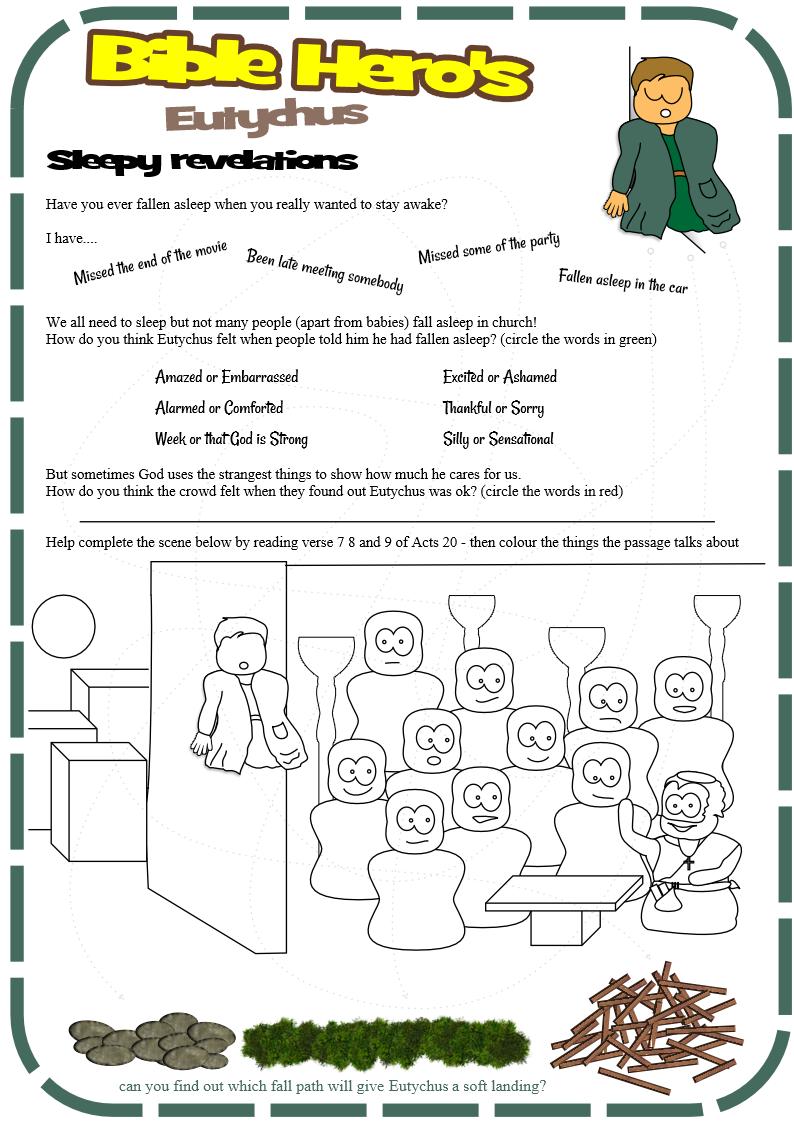 Sunday school lesson on the bible pdf