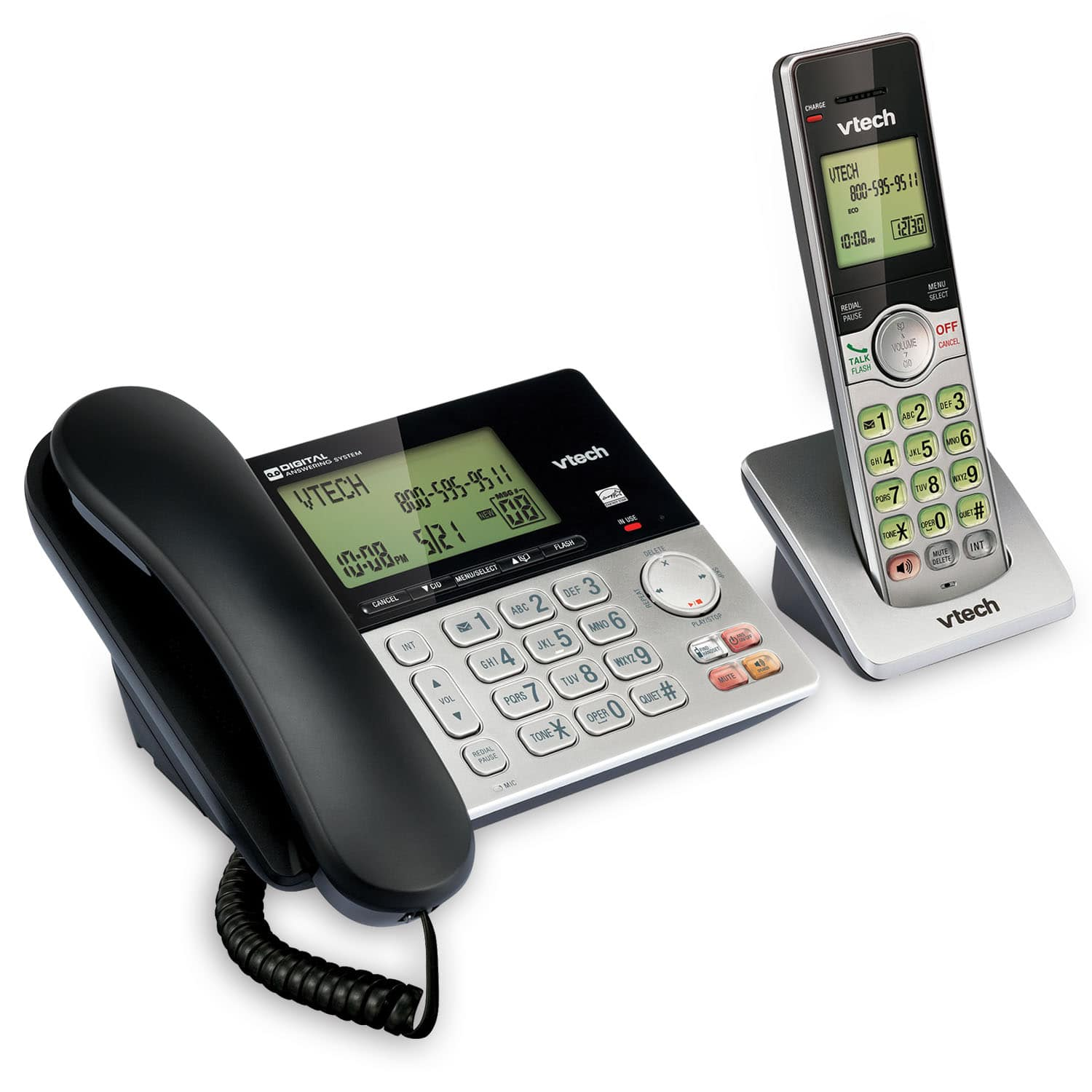Vtech 2 Line Cordless Phone With Answering Machine Manual Manual Guide